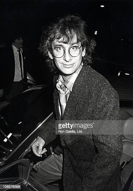 Steven Spielberg during Steven Spielberg and Amy Irving at Spago's Restaurant in Hollywood California January 18 1985 at Spago's Restaurant in...
