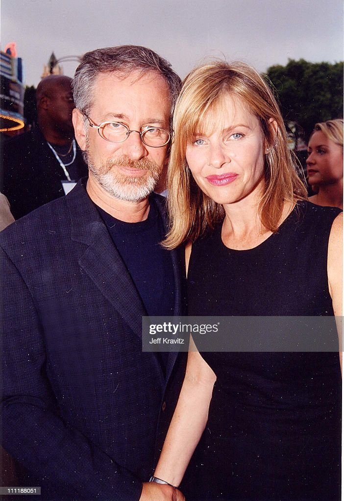 Steven Spielberg & Kate Capshaw at the 1998 premiere of Saving Private Ryan in Westwood.