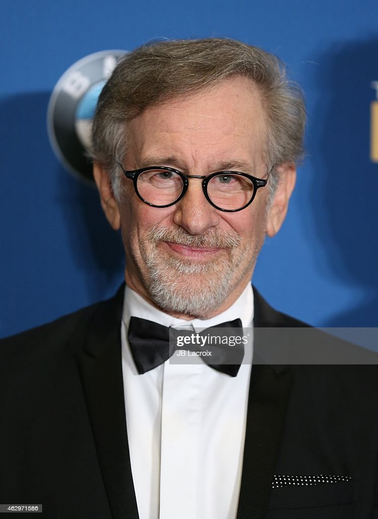 <a gi-track='captionPersonalityLinkClicked' href=/galleries/search?phrase=Steven+Spielberg&family=editorial&specificpeople=202022 ng-click='$event.stopPropagation()'>Steven Spielberg</a> poses in the press room at the 67th Annual Directors Guild Of America Awards at the Hyatt Regency Century Plaza on February 7, 2015 in Century City, California.
