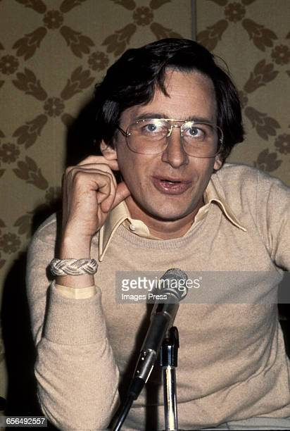 Steven Spielberg promoting 'Close Encounters of the Third Kind' circa 1977 in New York City