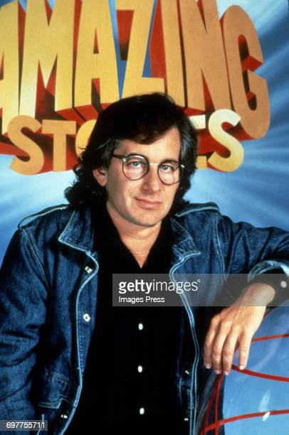 Steven Spielberg promoting his television series 'Amazing Stories' circa 1985