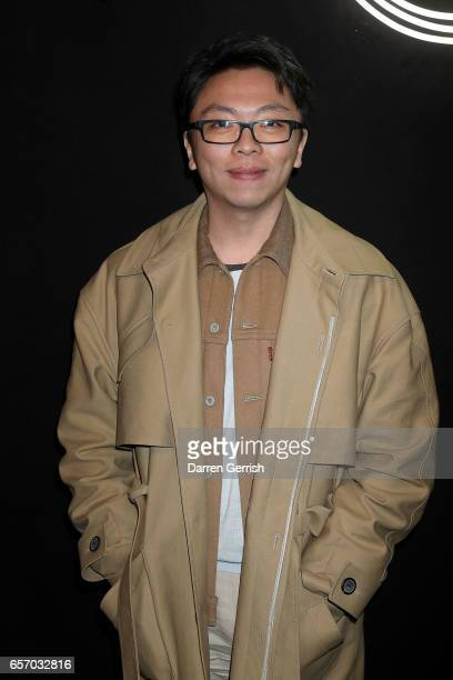 Steven Tai attends the MercedesBenz #MBCOLLECTIVE Chapter 1 launch party with M I A and Tommy Genesis on March 23 2017 in London United Kingdom