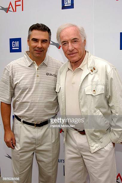 Steven Tawny and Bud Yorkin attend 8th Annual American Film Institute Golf Classic Presented By General Motors at Riviera Country Club on September...