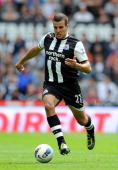 Steven Taylor of Newcastle United in action during the Barclays Premier League match between Newcastle United and Fulham at St James' Park on August...