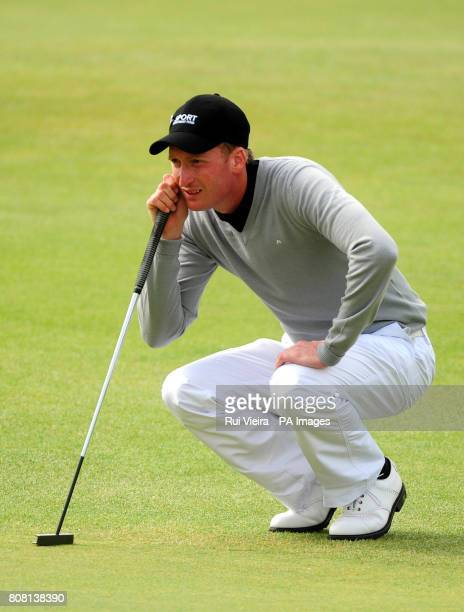 Steven Tiley during round one of The Open Championship 2010 at St Andrews Fife Scotland