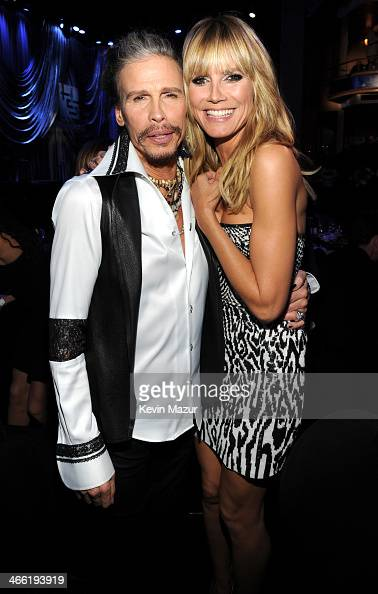 Steven Tyler and Heidi Klum attend 'Howard Stern's Birthday Bash' presented by SiriusXM produced by Howard Stern Productions at Hammerstein Ballroom...