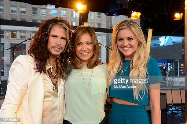 AMERICA Steven Tyler and Kelsea Ballerini announce the CMA nominations live on GOOD MORNING AMERICA 9/9/15 airing on the ABC Television Network