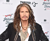 Steven Tyler attends 'Steven TylerOut on a Limb' Show to Benefit Janie's Fund in Collaboration with Youth Villages Red Carpet at David Geffen Hall on...