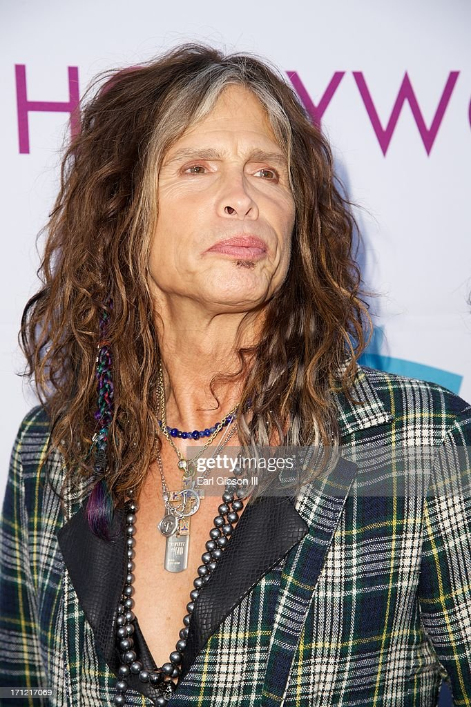 <a gi-track='captionPersonalityLinkClicked' href=/galleries/search?phrase=Steven+Tyler&family=editorial&specificpeople=202080 ng-click='$event.stopPropagation()'>Steven Tyler</a> attends the Hollywood Bowl Hall Of Fame Opening Night at The Hollywood Bowl on June 22, 2013 in Los Angeles, California.