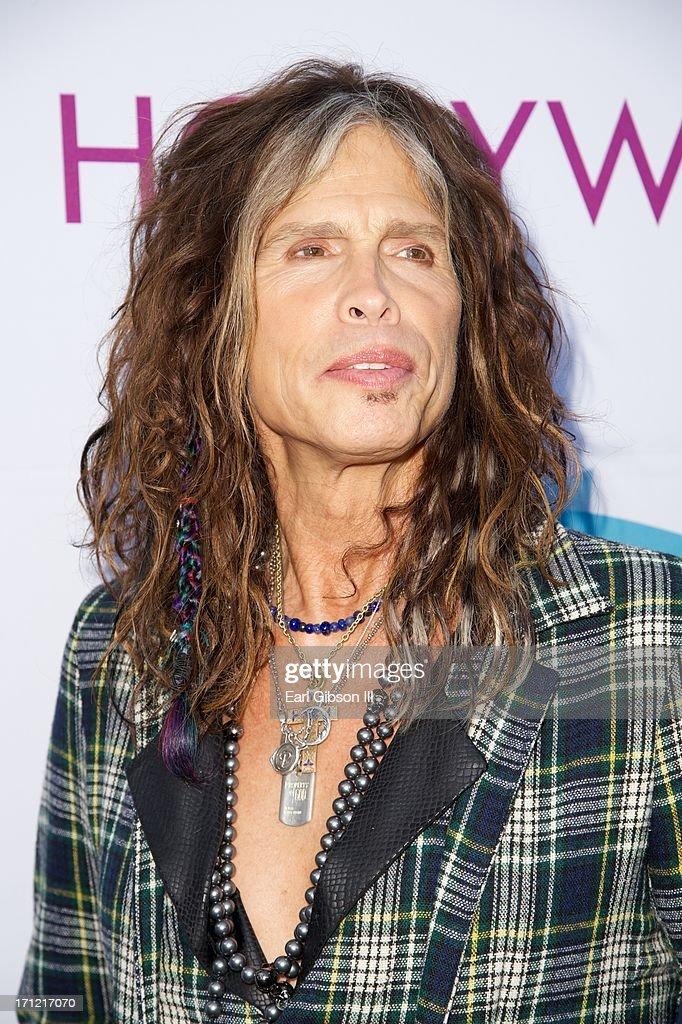<a gi-track='captionPersonalityLinkClicked' href=/galleries/search?phrase=Steven+Tyler+-+Musician&family=editorial&specificpeople=202080 ng-click='$event.stopPropagation()'>Steven Tyler</a> attends the Hollywood Bowl Hall Of Fame Opening Night at The Hollywood Bowl on June 22, 2013 in Los Angeles, California.