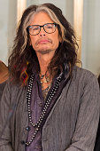 Steven Tyler attends the press conference ahead of the Nobel Peace Prize concert at the Norwegian Nobel Institute on December 11 2014 in Oslo Norway...