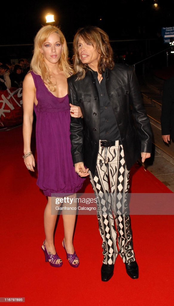 Steven Tyler during The Mastercard Brit Awards 2007 - Outside Arrivals at Earls Court in London, Great Britain.