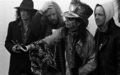 Steven Tyler of Aerosmith portrait backstage at Donington Park United Kingdom 1994