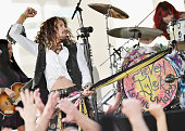 Steven Tyler performs on NBC's 'Today' at Rockefeller Plaza on June 24 2016 in New York City