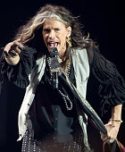 Steven Tyler performs on stage during the Nobel Peace Prize concert at Oslo Spektrum Tonight Nobel Peace Concert is hosted by Queen Latifah to honour...