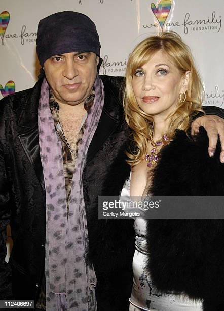 Steven Van Zandt and Maureen Van Zandt during We Are Family Foundation To Honor Sir Elton John Quincy Jones Tommy Hilfiger and The Comcast Family of...