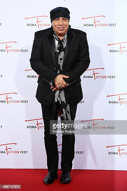 Steven Van Zandt attends the 'Lea' red carpet during the RomaFictionFest 2015 at Auditorium Conciliazione on November 11 2015 in Rome Italy