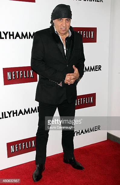 Steven Van Zandt attends the 'Lilyhammer' season 2 premiere at NYIT Auditorium on November 19 2013 in New York City