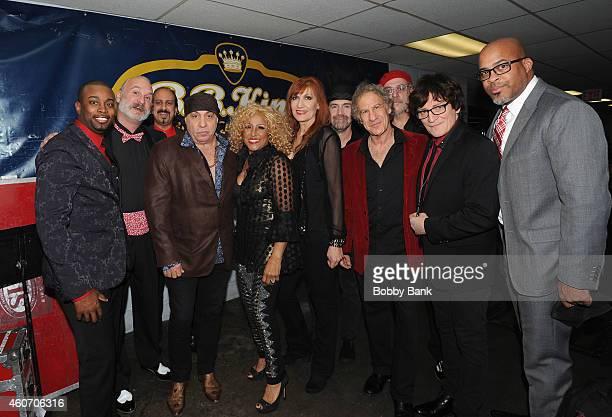 Steven Van Zandt Darlene Love Ula Hedwig Milton Vann Baritone Williams and Jay Leslie performs 'A Darlene Love Christmas' at BB King Blues Club Grill...