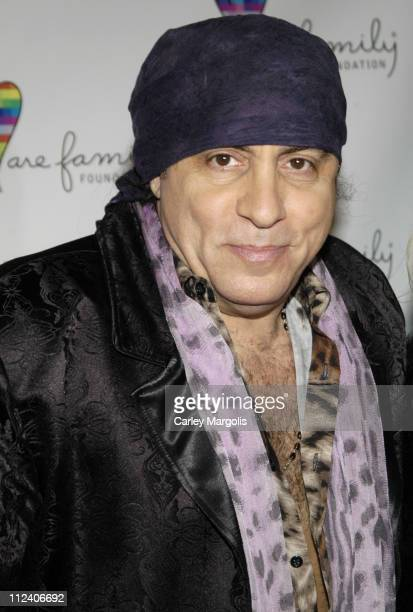 Steven Van Zandt during We Are Family Foundation To Honor Sir Elton John Quincy Jones Tommy Hilfiger and The Comcast Family of Companies at The...