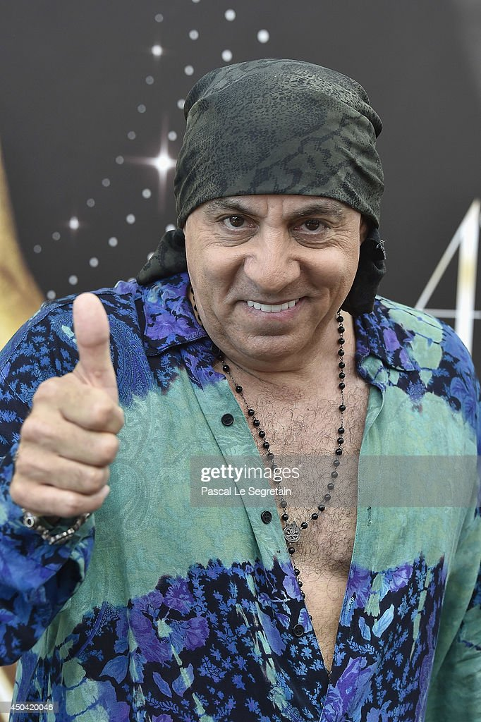 Steven Van Zandt poses during a photocall for the TV Show ' Lilyhammer ' as part of the 54th Monte-Carlo Television Festival on June 11, 2014 in Monte-Carlo, Monaco.