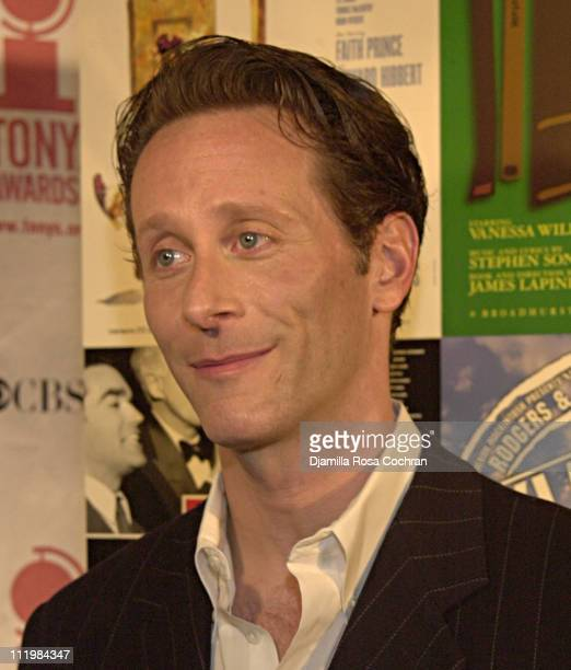 Steven Weber during 2002 Tony Award Nominations at Sardi in New York City New York United States