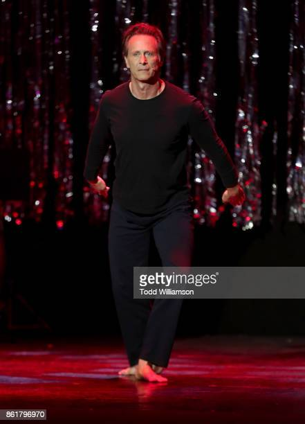 Steven Weber performs onstage at National Breast Cancer Coalition Fund's 17th Annual Les Girls Cabaret at Avalon Hollywood on October 15 2017 in Los...