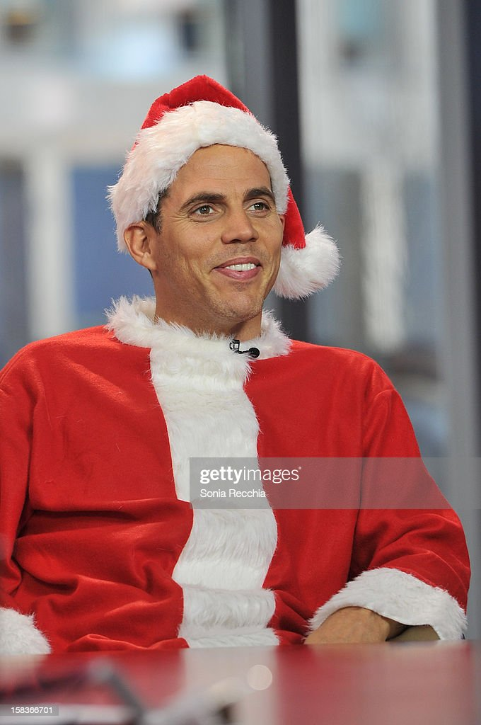 <a gi-track='captionPersonalityLinkClicked' href=/galleries/search?phrase=Steve-O&family=editorial&specificpeople=218102 ng-click='$event.stopPropagation()'>Steve-O</a> Appears On The Morning Show at The Morning Show Studios on December 14, 2012 in Toronto, Canada.