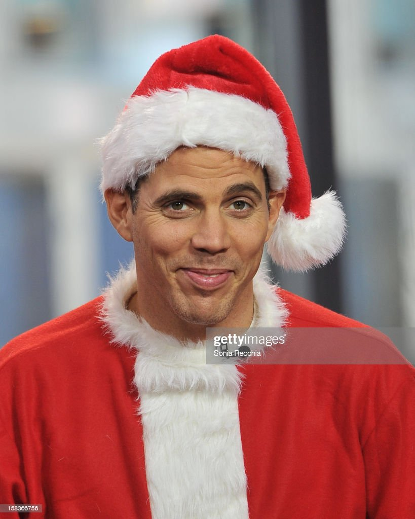 Steve-O Appears On The Morning Show - at The Morning Show Studios on December 14, 2012 in Toronto, Canada.