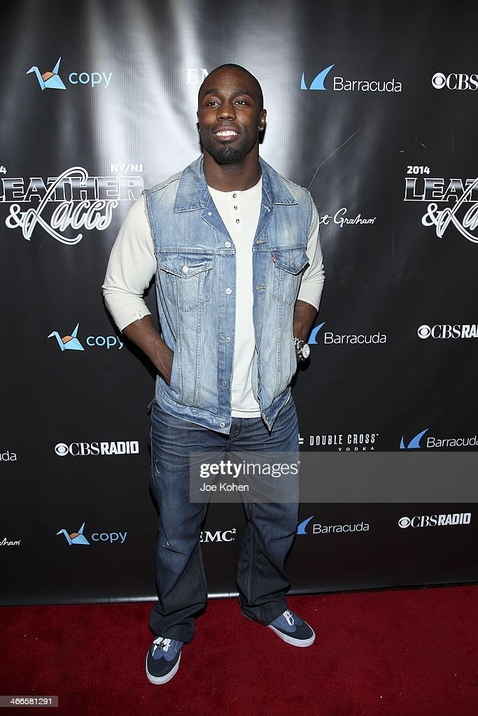 <a gi-track='captionPersonalityLinkClicked' href=/galleries/search?phrase=Stevie+Brown&family=editorial&specificpeople=4542486 ng-click='$event.stopPropagation()'>Stevie Brown</a> attends the 11th Annual 'Leather & Laces' Party at The Liberty Theatre on February 1, 2014 in New York City.