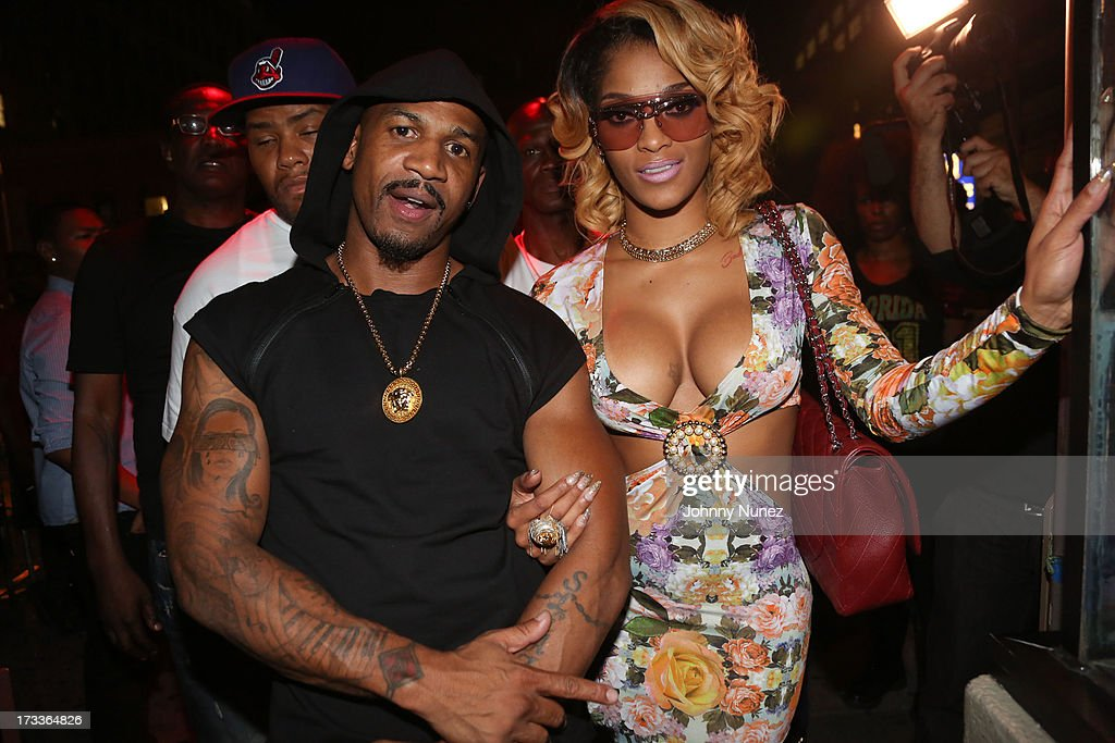 Stevie J and <a gi-track='captionPersonalityLinkClicked' href=/galleries/search?phrase=Joseline+Hernandez&family=editorial&specificpeople=9476744 ng-click='$event.stopPropagation()'>Joseline Hernandez</a> attend The D9 Agenda After Party Featuring Wale at Greenhouse on July 11, 2013 in New York City.
