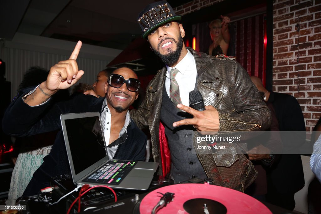 Stevie J and Swizz Beatz attend House Of Hype Monster Grammy Party at House Of Hype on February 10, 2013 in Los Angeles, California.