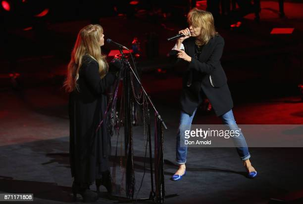 Stevie Nicks and Chrissie Hynde perform at ICC Sydney Theatre on November 7 2017 in Sydney Australia