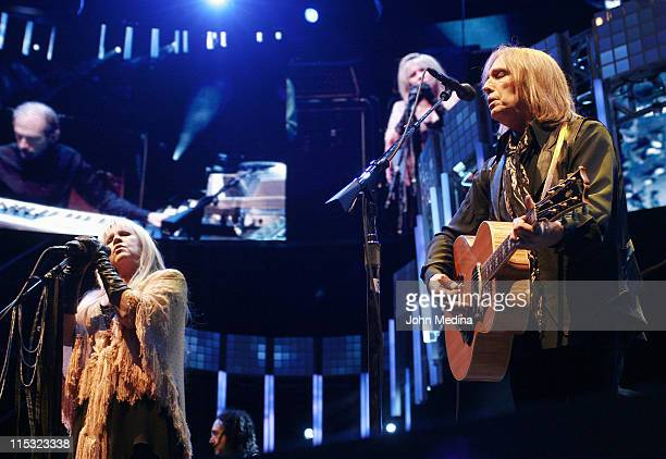 Stevie Nicks and Tom Petty during Tom Petty and The Heartbreakers Perform at The Greek Theater October 27 2006 at The Greek Theater in Berkeley...