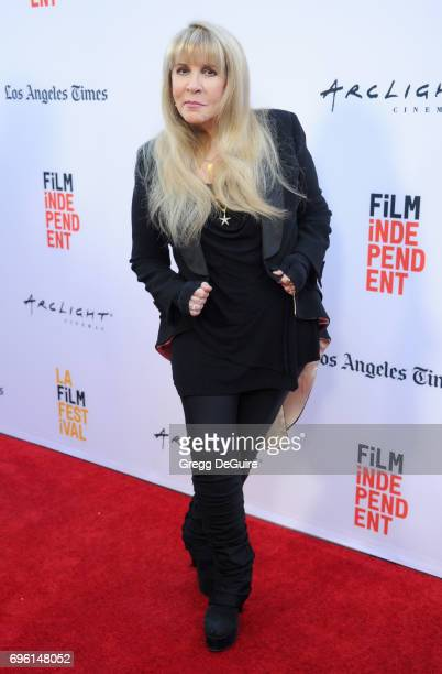Stevie Nicks arrives at the 2017 Los Angeles Film Festival Opening Night Premiere Of Focus Features' 'The Book Of Henry' at Arclight Cinemas Culver...