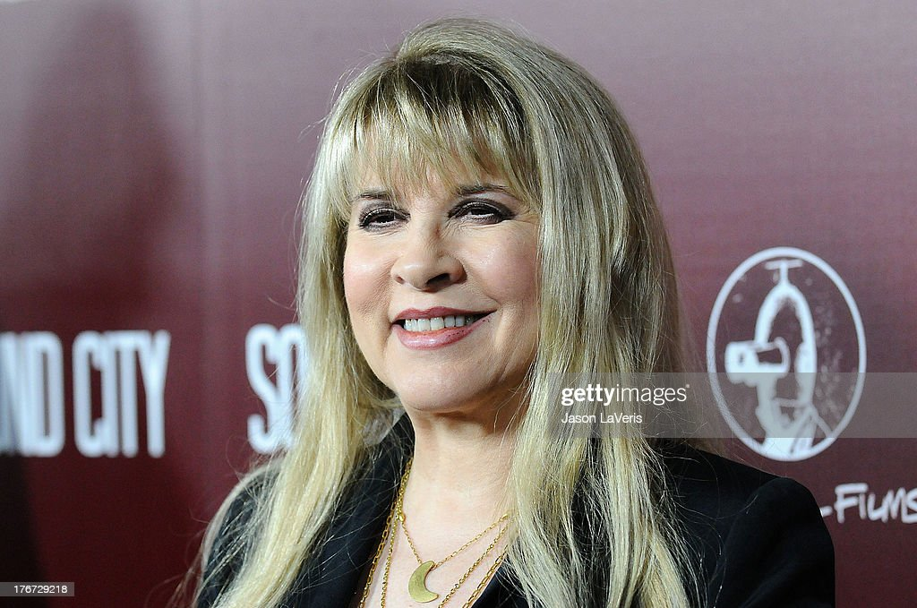 <a gi-track='captionPersonalityLinkClicked' href=/galleries/search?phrase=Stevie+Nicks&family=editorial&specificpeople=212751 ng-click='$event.stopPropagation()'>Stevie Nicks</a> attends the premiere of 'Sound City' at ArcLight Cinemas Cinerama Dome on January 31, 2013 in Hollywood, California.