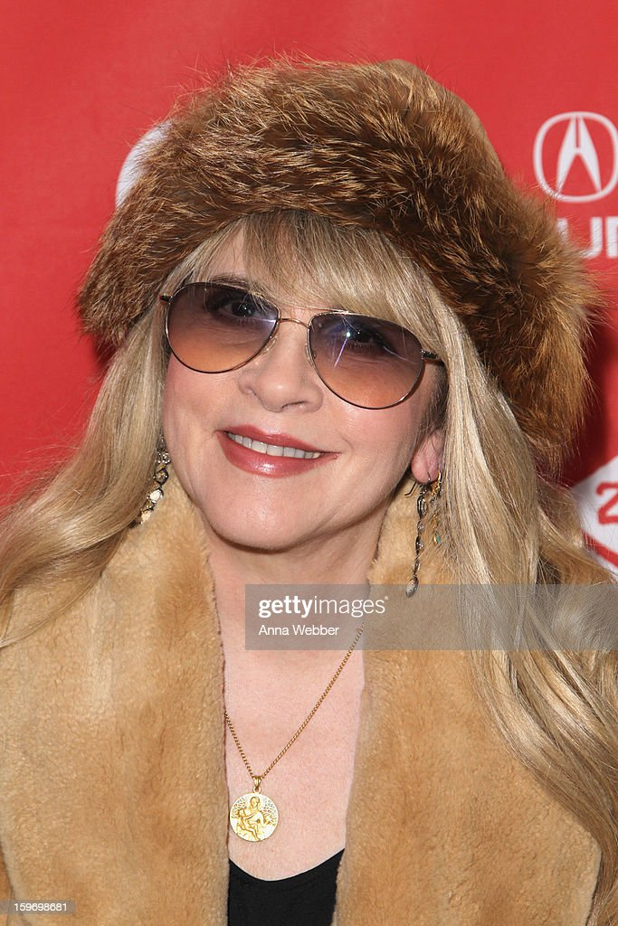 Stevie Nicks attends the 'Sound City' premiere during the 2013 Sundance Film Festival at The Marc Theatre on January 18, 2013 in Park City, Utah.