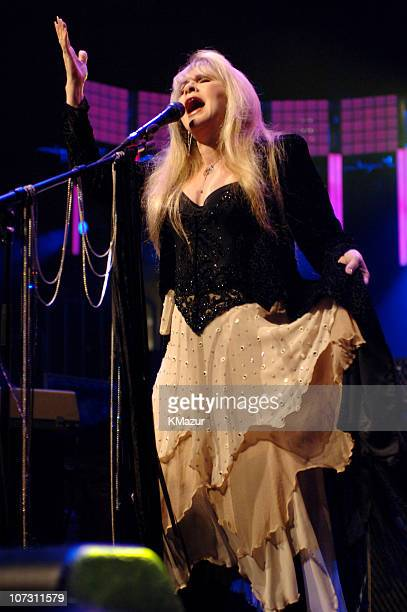 Stevie Nicks during Tom Petty Stevie Nicks and Trey Anastasio in Concert at Madison Square Garden June 20 2006 at Madison Square Garden in New York...