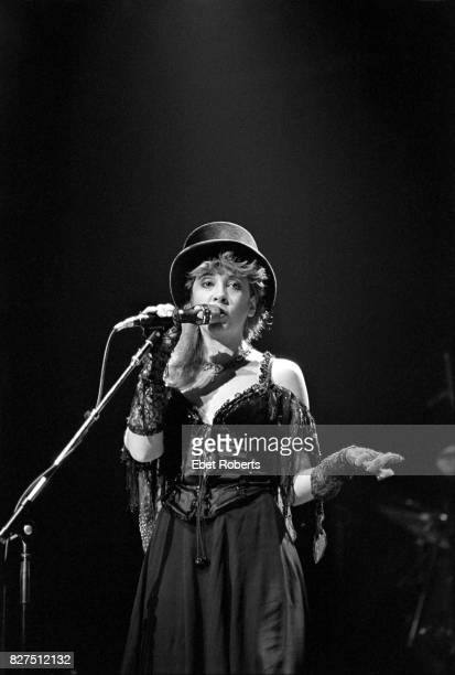 Stevie Nicks of Fleetwood Mac performing at Radio City Music Hall in New York City on September 131983
