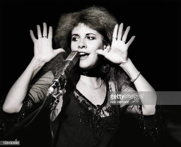 Stevie Nicks of Fleetwood Mac performs on stage at Ahoy on 13th June 1980 in Rotterdam Netherlands