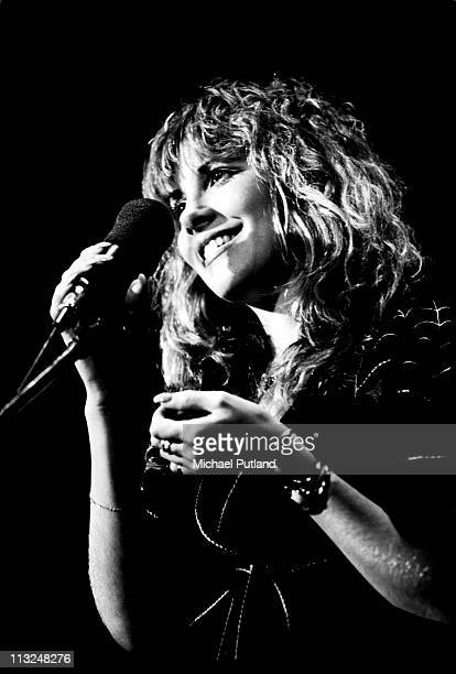 Stevie Nicks of Fleetwood Mac performs on stage New York 1977