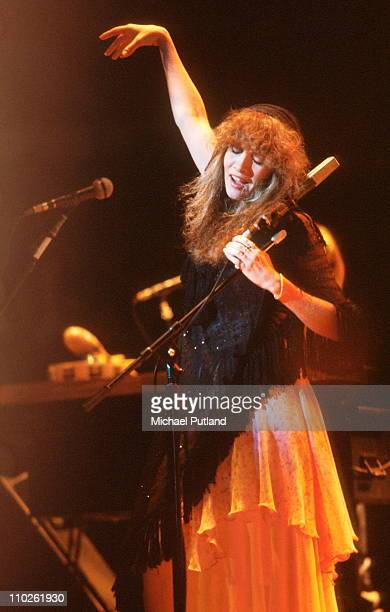 Stevie Nicks of Fleetwood Mac performs on stage New York 1979