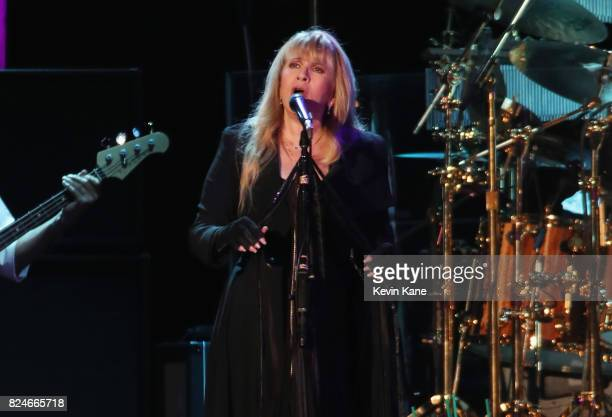 Stevie Nicks of Fleetwood Mac performs onstage during The Classic East Day 2 at Citi Field on July 30 2017 in New York City