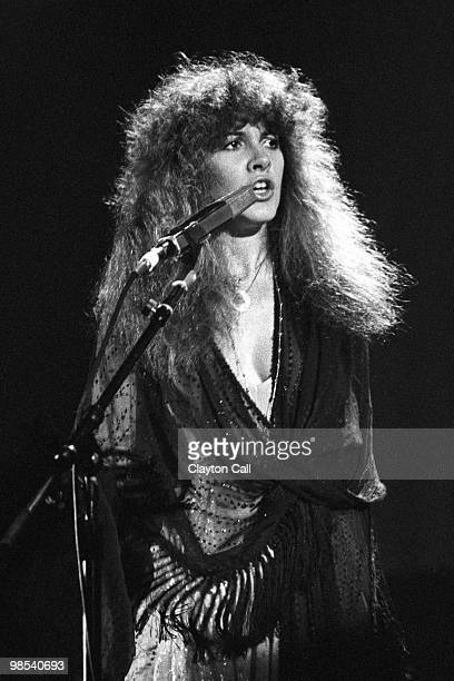Stevie Nicks performing with Fleetwood Mac at the Cow Palace in San Francisco California on December 12 1979