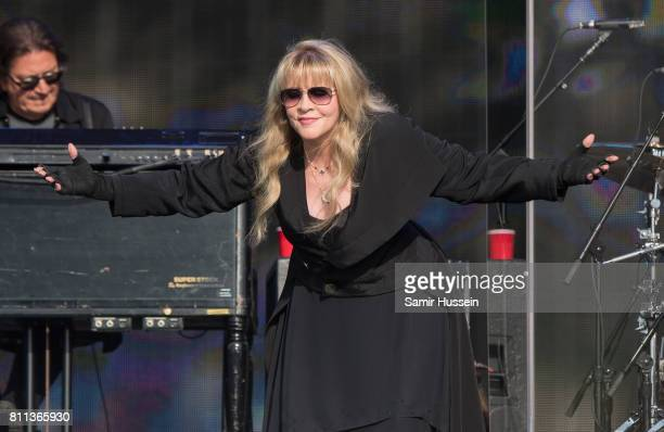 Stevie Nicks performs at British Summer Time in Hyde Park on July 9 2017 in London England