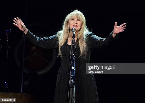 Stevie Nicks performs at The Palace of Auburn Hills on November 27 2016 in Auburn Hills Michigan