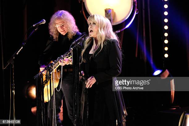 Stevie Nicks performs during 'The Late Late Show with James Corden' Thursday October 6th 2016 On The CBS Television Network