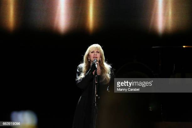 Stevie Nicks performs in concert at Prudential Center on April 2 2017 in Newark New Jersey