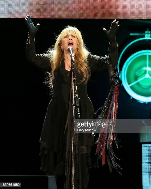 Stevie Nicks performs in concert at The Frank Erwin Center on March 12 2017 in Austin Texas