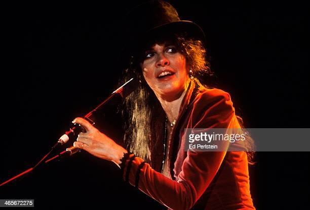 Stevie Nicks performs with Fleetwood Mac at the Cow Palace in December 1979 in San Francisco California